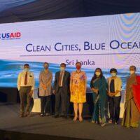Ambassador and officials at launch event