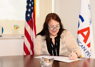 USAID Mission Director signs agreement